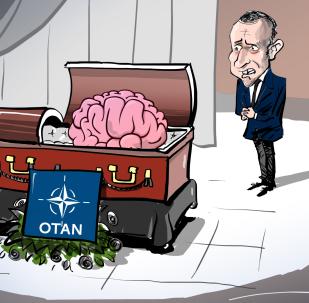 El 'funeral' del cerebro de la OTAN