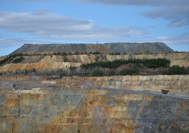 Mina de cobre (Archivo)