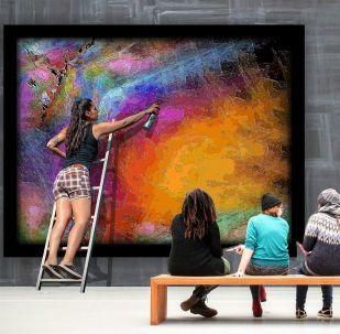 Arte contemporáneo, imagen ilustrativa