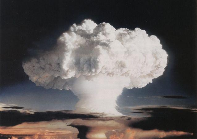 Ensayo nuclear realizado el 1 de noviembre del 1952 en la atmósfera sobre el atolón Enewetak
