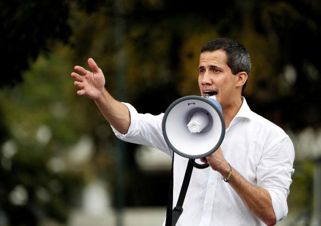 Juan Guaidó, diputado opositor venezolano