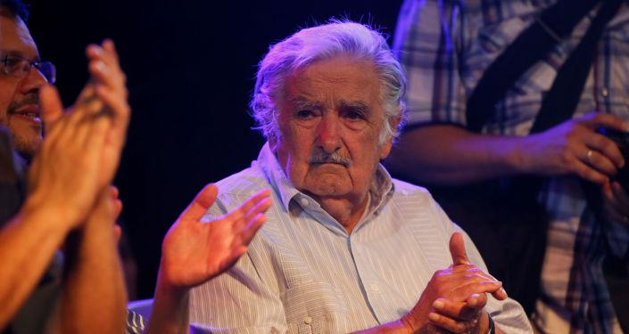 El expresidente de Uruguay José Mujica