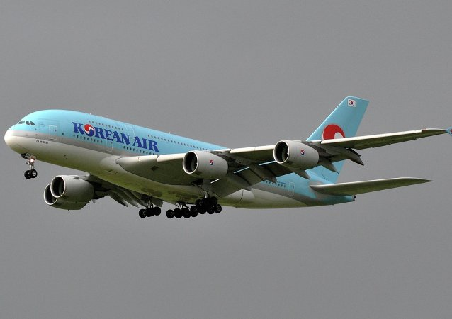 Самолёт A380-861 компании Korean Air