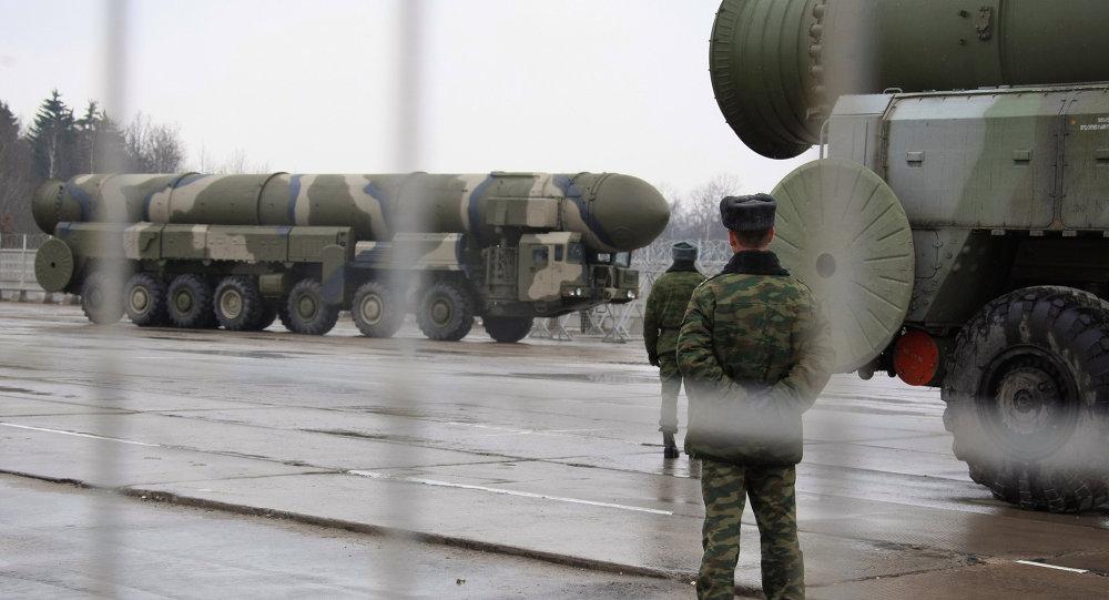 Sistemas de misiles estratégicos Topol