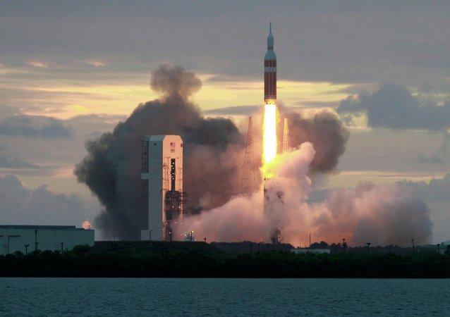 El cohete Delta IV (Archivo)