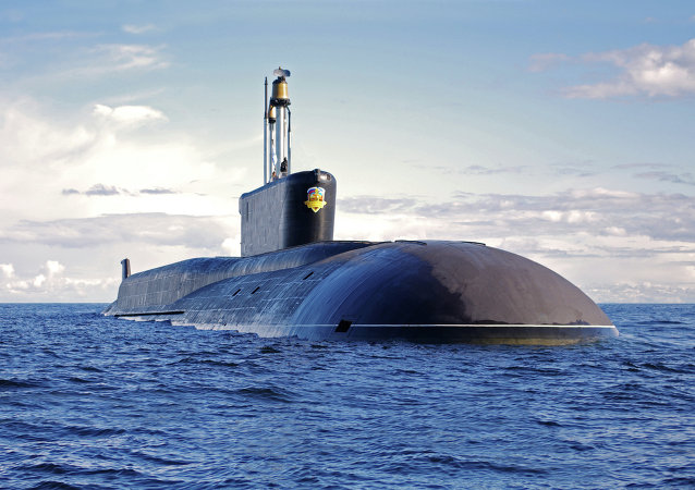 Submarino nuclear ruso (imagen referencial)