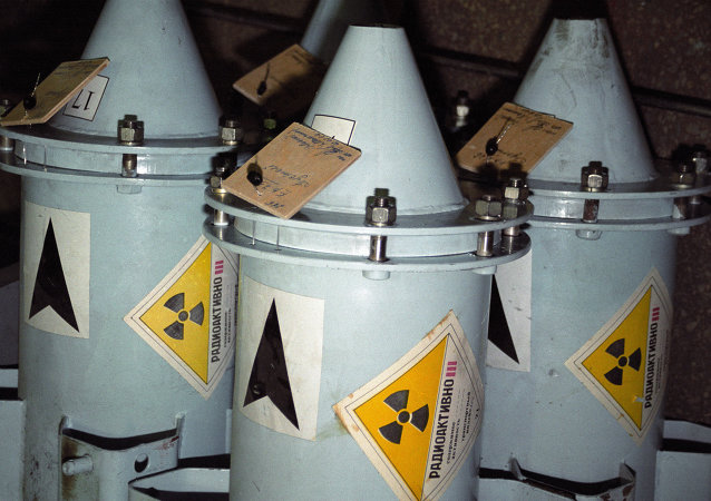 Contenedores con combustible nuclear