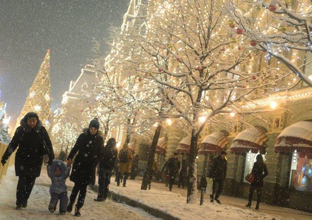 Plaza Roja en Moscú