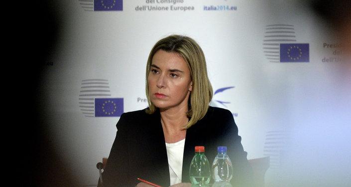 Federica Mogherini, Alto representante de la Unión Europea para Asuntos Exteriores y Política de Seguridad (Archivo)