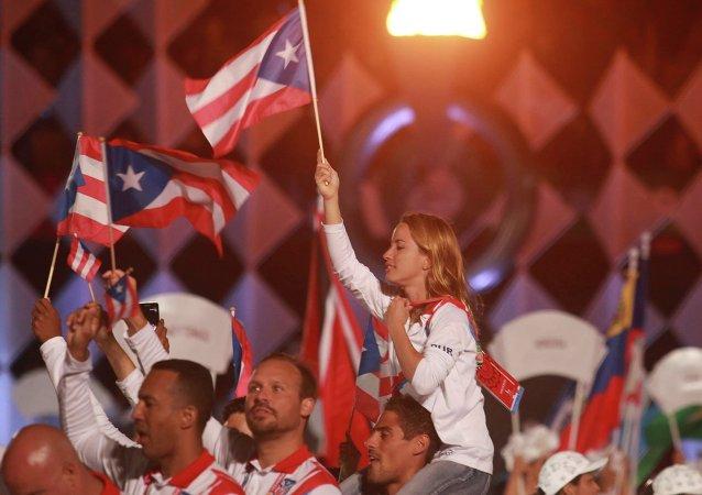 Болельщики кубинской сборной на  22 Играх стран Центральной Америки и Карибского бассейна, Веракрус, Мексика
