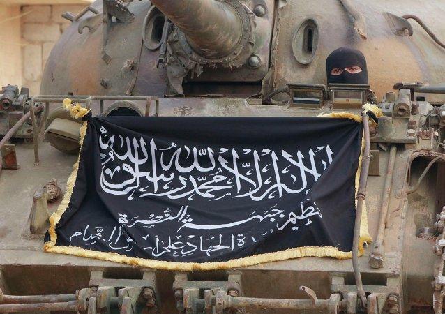Combatiente del Frente al Nusra