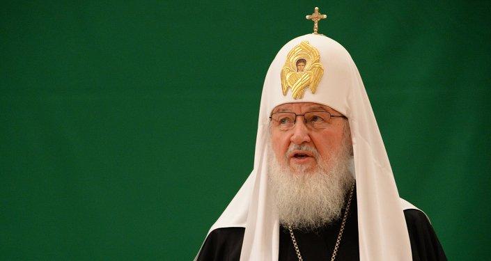 El patriarca Kiril