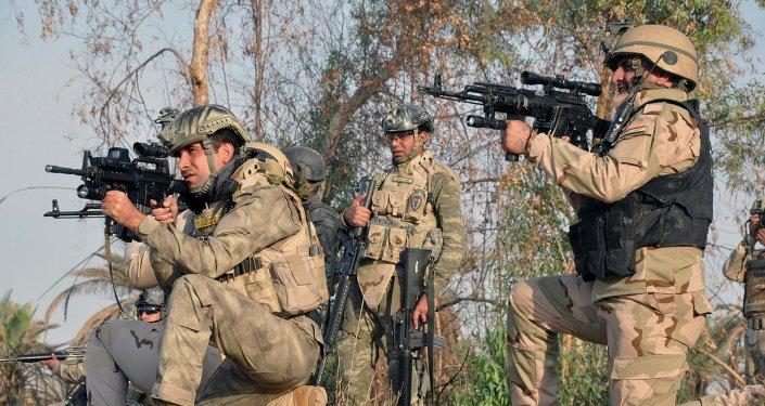 Militantes iraquíes