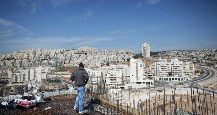 Asentamientos israelíes en Cisjordania (archivo)