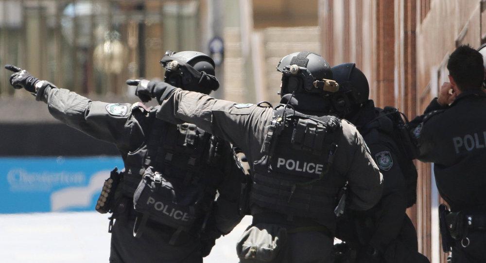 Policías de Australia (archivo)