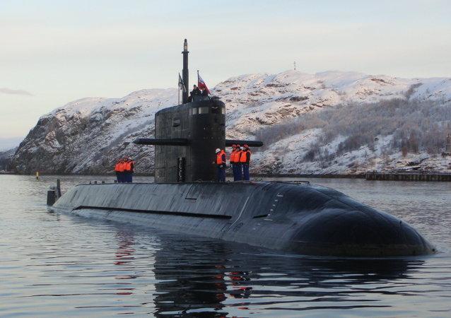 Un submarino del proyecto Lada (archivo)