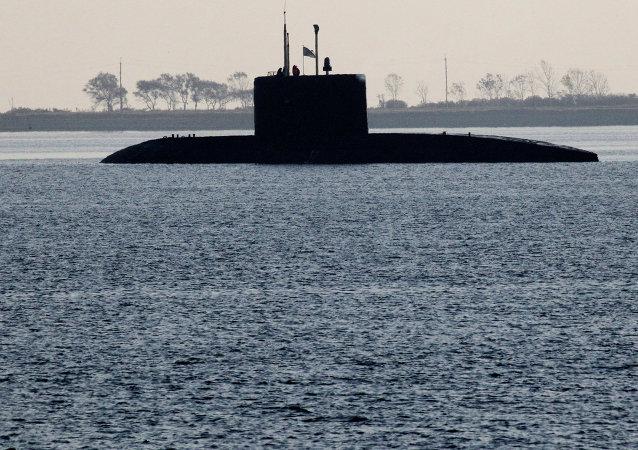 Учения Тихоокеанского флота по оказанию помощи аварийной подводной лодке