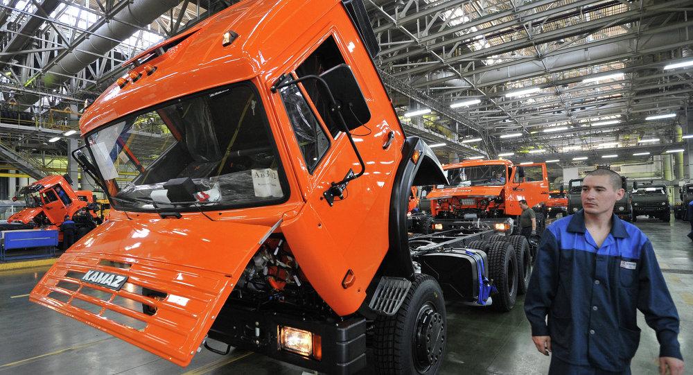 Camión ruso Kamaz