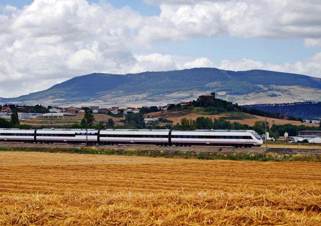 Испанский высокоскоростной поезд