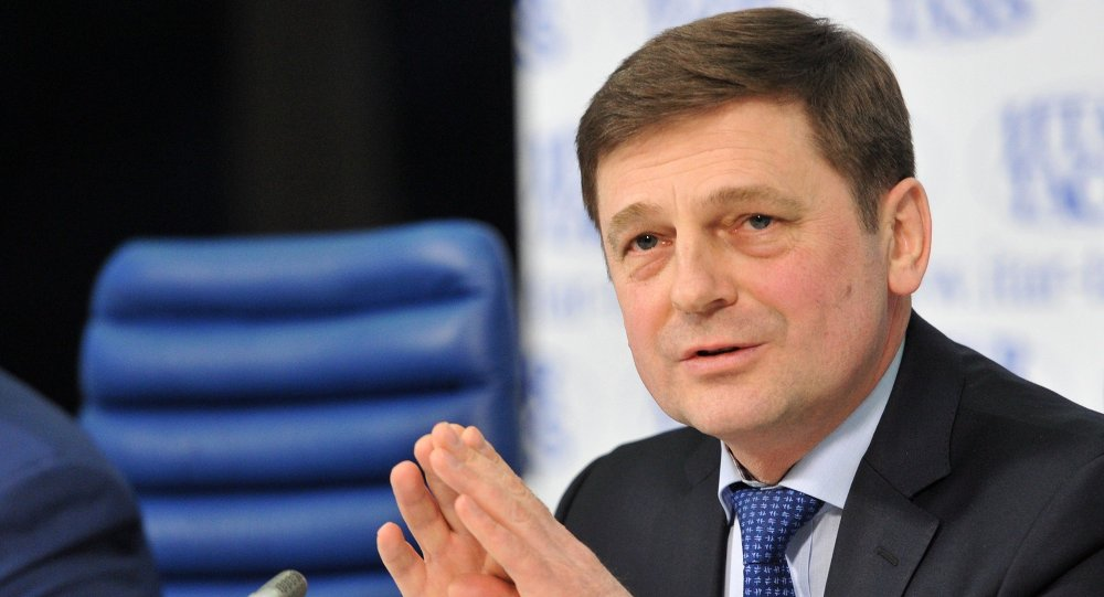 Oleg Ostapenko, jefe de la agencia espacial Roscosmos