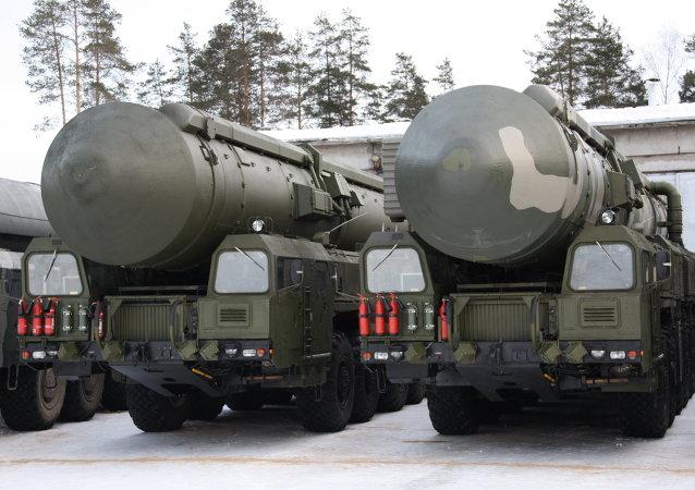 Sistema de misiles balísticos intercontinentales 'Yars' (archivo)