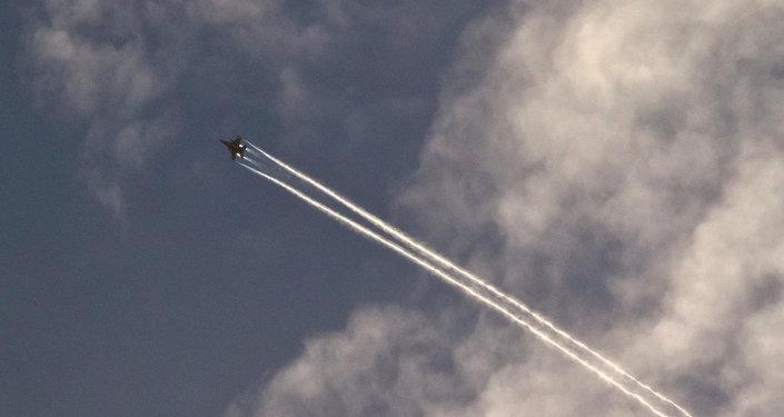 Avión de EEUU en Siria (archivo)