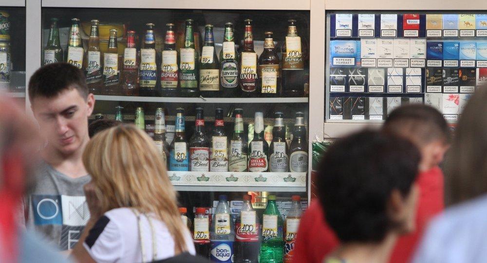 Продажа слабоалкогольных напитков в Москве