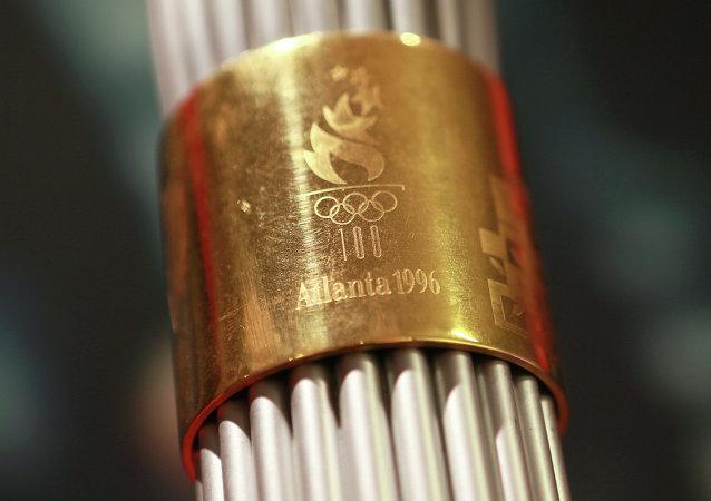 Выставка, посвященная эстафете Олимпийского огня