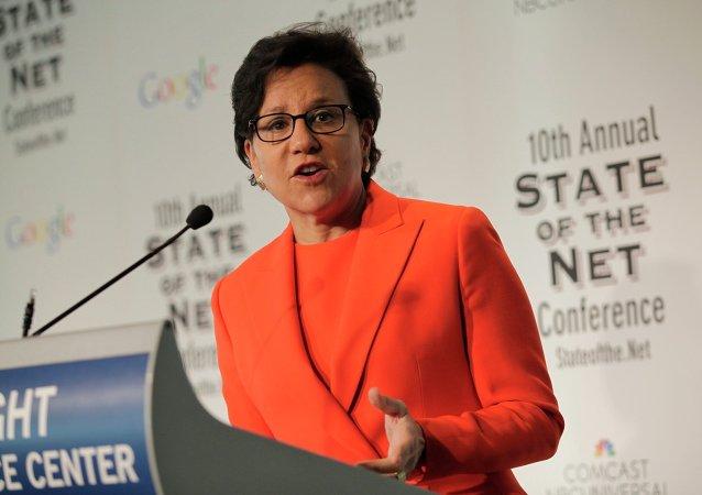 Penny Pritzker, secretaria de Comercio de EEUU