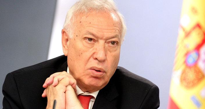 Хосе Мануэль Гарсия-Маргальо, министр иностранных дел Испании