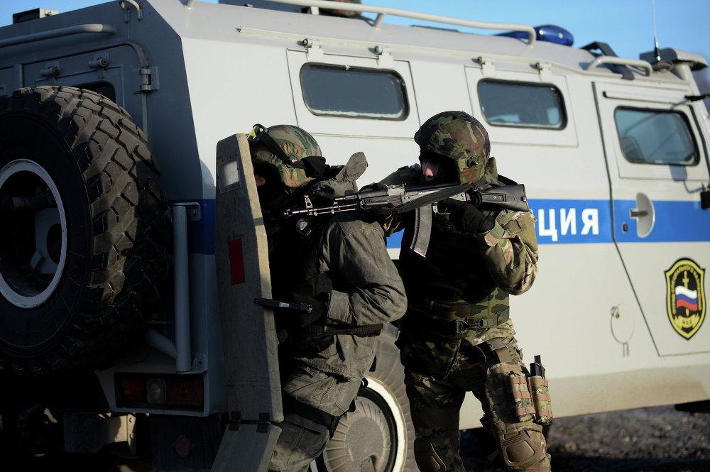 Unidad de reacción rápida de las fuerzas especiales rusas