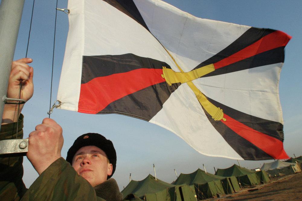 Артиллерийские учения на полигоне Балтийского флота Павенково