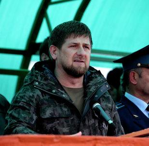 Ramzán Kadírov, presidente de la República de Chechenia