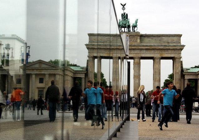 Puerta de Brandenburgo en Berlín (archivo)
