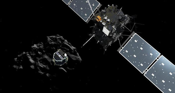 """Sonda espacial """"Rosetta"""" llega a cometa"""