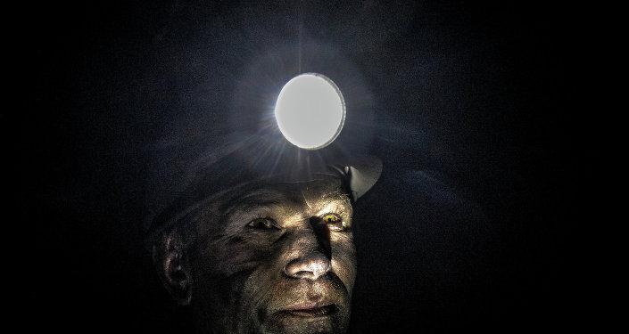 Un minero (imagen referencial)