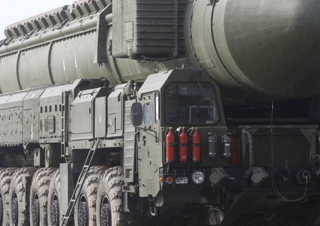 The Topol-M mobile ballistic missile system