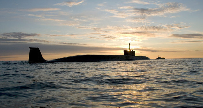 Submarino nuclear del proyecto Borei 'Yuri Dolgoruki'