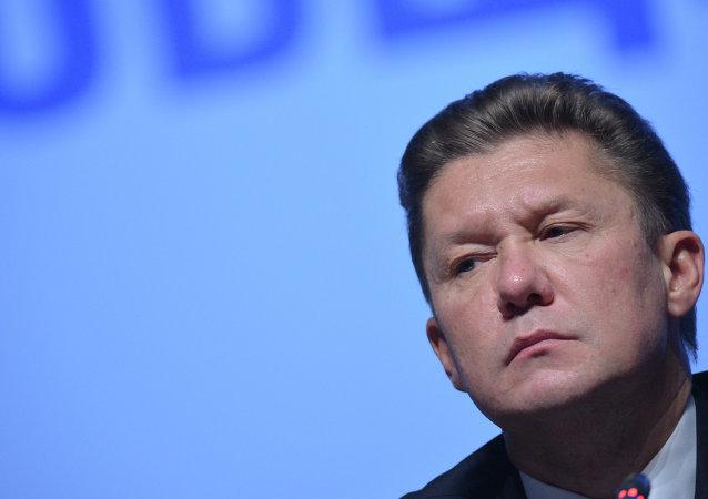Alexei Miller, consejero delegado de Gazprom