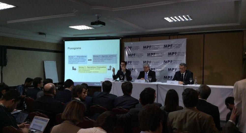 Федеральное государственное министерство сообщает имена 35, обвиняемых в коррупции по делу Петробрас 11 декабря 2014