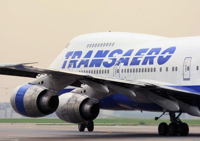 Aeroflot comprará el 75% de Transaero por un rublo
