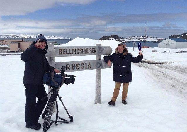 """Премьера фильма """"Сталинград"""" прошла в Антарктиде для полярников из РФ и Южной Америки"""