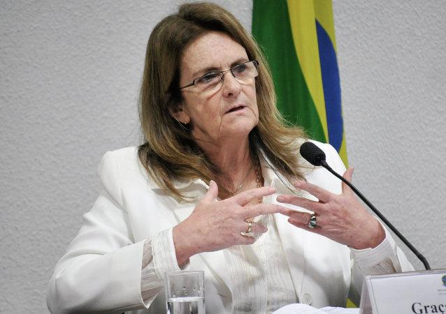 Graça Foster, expresidenta de Petrobras