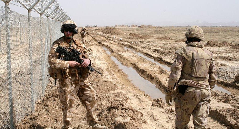 Militares de la ISAF en Afganistán