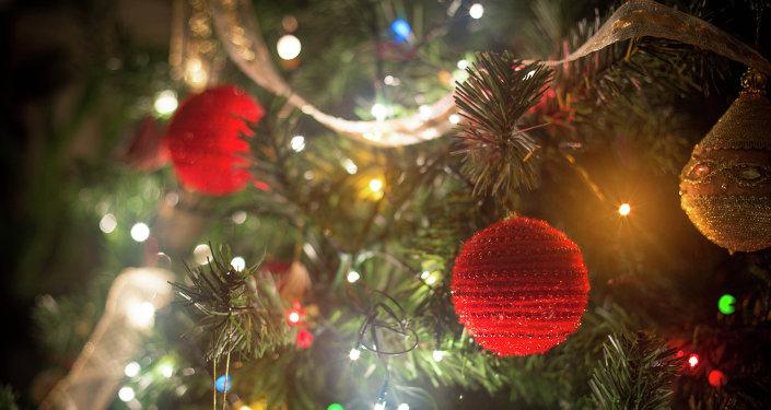Árbol de Navidad (imagen referencial)