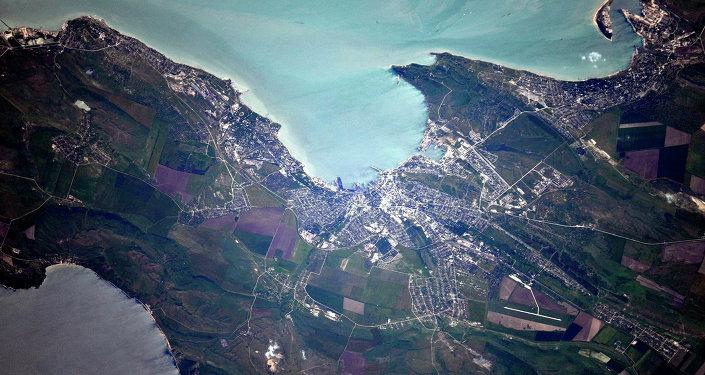 Kerch, vista desde el espacio