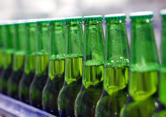 Botellas de cerveza