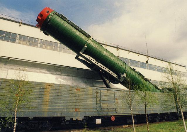El sistema ferroviario de misiles intercontinentales