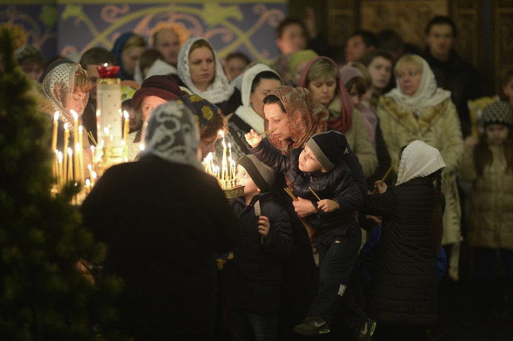 El 72% de los rusos celebrarán la Navidad ortodoxa en enero