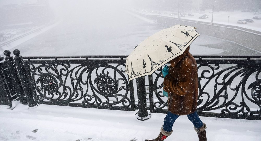 Una nevada (imagen referencial)